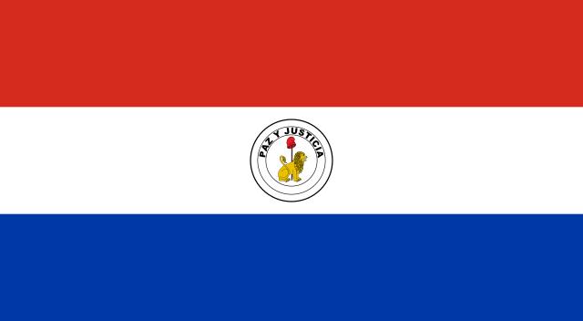 پشت پرچم پاروگوئه