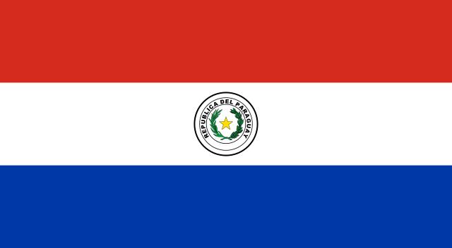 روی پرچم پاروگوئه